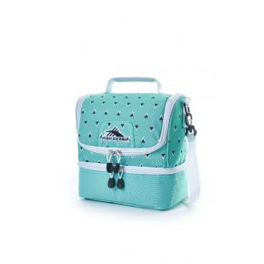 HIGH SIERRA HS LUNCH BOX C TRI GEO/AQUAMARINE/WHITE Backpack
