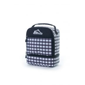 HIGH SIERRA HS LUNCH BOX D GINGHAM/BLACK Backpack