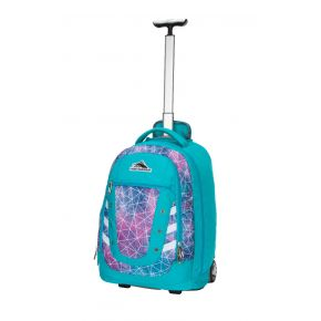 HIGH SIERRA HS TACTIC WHEELED BACKPACK SEQUIN FACETS/BLUEBIRD/WHITE Backpack