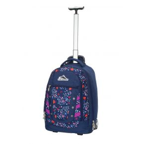 HIGH SIERRA HS TACTIC WHEELED BACKPACK TRIANGLE PARTY/TRU NAVY/HYACIN Backpac
