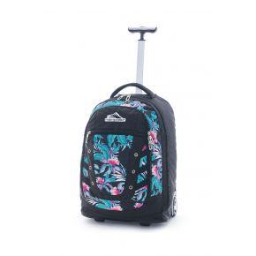 HIGH SIERRA HS TACTIC WHEELED BACKPACK TROPIC NIGHTS/BLACK Backpack