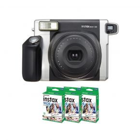 Fujifilm Instax Wide 300 Camera With 10Sheets Wide Film (3Packs)