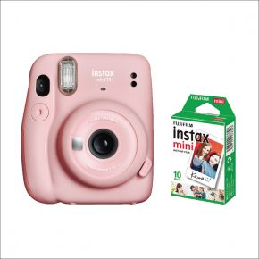 Fujifilm Instax Mini 11 Pink With 10 Sheets Film Pack