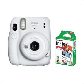 Fujifilm Instax Mini 11 White With 10 Sheets Film Pack
