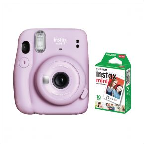 Fujifilm Instax Mini 11 Camera With 10 Sheets Film Pack (Purple)