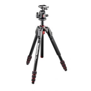 Manfrotto 190 Go! Aluminium Twist Lock 4-Section Tripod With Head