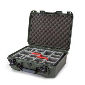 Nanuk 930 Case with Padded Divider Olive (930-2006)