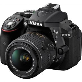 Nikon D5300 With 18-55mm F/3.5-5.6 Kit With 16GB Card And Case