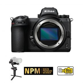 Nikon Z6 II Mirrorless Camera Body WIth Zhiyun Weebill-S Stabilizer