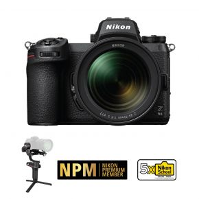 Nikon Z6II Mirrorless Camera With 24-70mm F/4 Lens Kit With Zhiyun Weebill-S Gimbal Stabilizer
