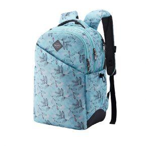 PIXIE BACKPACK 3 TEAL PRINT Backpack