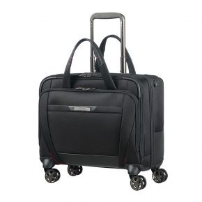 Samsonite CG7 (*) 09 015 SAM PRO-DLX 5 SPINNER TOTE 15.6 BLACK Spinner