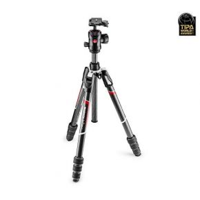 Manfrotto Befree GT Carbon fibre Tripod Twist lock With Ball Head