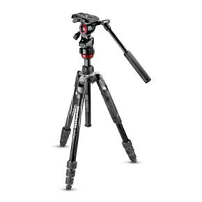 Manfrotto Befree live Aluminium Tripod Twist Video Head