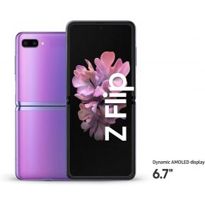 SAMSUNG Z FLIP 8/256 GB SESIM 4G - Mirror Purple