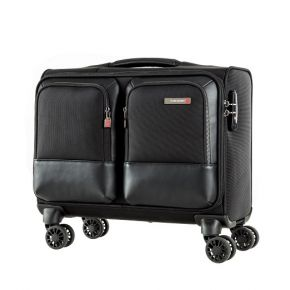 SAMSONITE SEFTON Spinner Rolling Tote - Black