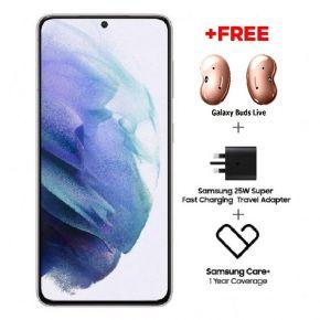 Samsung  Galaxy S21 5G 8GB RAM | Phantom White - 128GB Memory