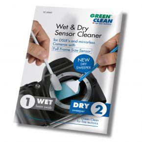 Green Clean Wet & Dry Sensor Cleaner Set - Full Frame Size (SC-6060-25)
