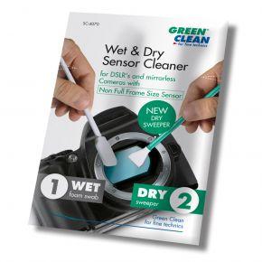 Green Clean Wet & Dry Sensor Cleaner Set - Non Full Frame Size (SC-6070-25)