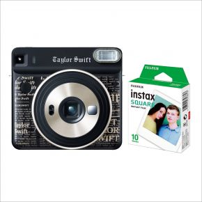 Fujifilm Instax Square Camera SQ6 Taylor Swift Edition  Bundle With 10 Sheets Film