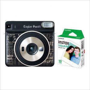 Fujifilm Instax Square Camera SQ6 Taylor Swift Edition  Bundle With 10 Sheets Film