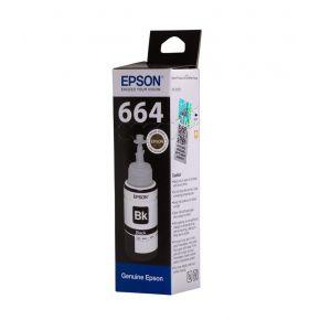 C13T66414A T6641 Black ink bottle for EcoTank L655/L605/L565/L550/L486/L455/L386/L382/L365/L355/L310/L3070/L3060/L3050/L300/L220/L210/L200/L1455/L1300/L120/L110/L100