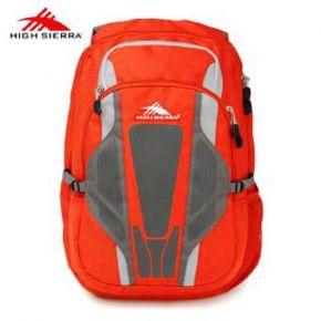 HIGH SIERRA TACKLE Backpack - Crimson/ Slate/ Ash