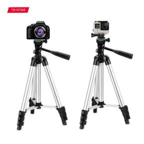 Trands TR-ST368 Tripod Stand with Mobile and Camera Holder