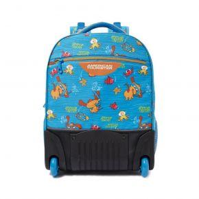 WODDLE PLUS Wheeled Backpack 02 - Blue