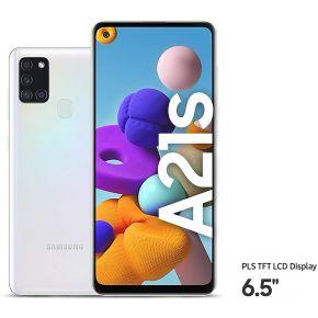 SAMSUNG A21s 4/64 GB Dual Sim 4G - White
