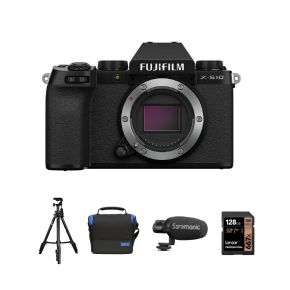 FUJIFILM X-S10 Mirrorless Digital Camera Body With Accessories Kit