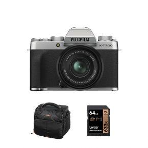 Fujifilm X-T200 Mirrorless Camera Silver