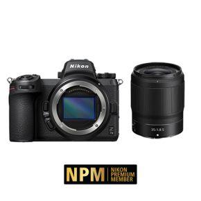 Nikon Z7II Mirrorless Camera Body Accessories Kit + Nikon Z 35mm F/1.8 S Lens